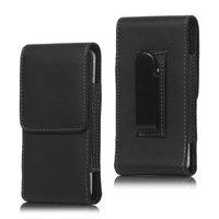Clip pantalon iPod Touch 5 6 et iPhone 5 5s 5c SE - étui en cuir noir
