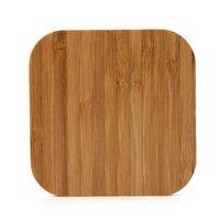 Chargeur universel sans fil Qi - Chargeur en bois de bambou