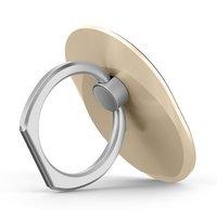 Porte-doigt universel pour smartphone à poignée annulaire - or
