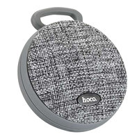 Hoco BS7 Bluetooth Speaker Fabric Grey - Haut-parleur sans fil gris