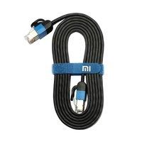 Câble réseau Ethernet Xiaomi CAT6 - 1,5 mètre plat noir