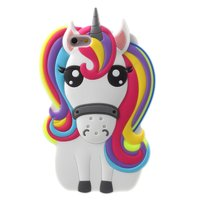 Coque iPhone 6 6s Rainbow Unicorn en silicone - Unicorn Rainbow