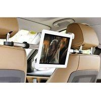 Support pour tablette iPad pour la pince d'appui-tête de voiture - Aluminium rotatif à 360 degrés