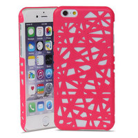 Étui rigide iPhone 6 6s Bird Nest Design Bird Nest - Rose