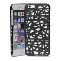 Coque rigide nid d'oiseau iPhone 6 6s design Nid d'oiseau - Noir