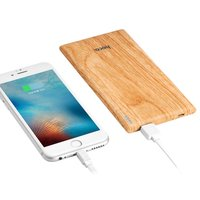 Hoco B10 Powerbank Wood pattern - 7000mAh - Charge rapide Chargeur rapide