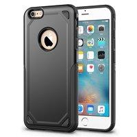 Coque iPhone 6 6s Pro Armor Shockproof - Housse de protection noire - Protection supplémentaire