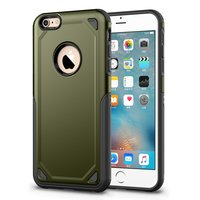 Coque iPhone 6 6s Pro Armor Antichoc - Housse de Protection Vert Armée - Protection Extra