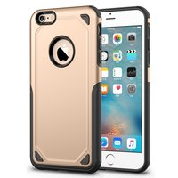 Coque iPhone 6 6s Pro Armor Shockproof - Etui de protection Or - Extra Protection or