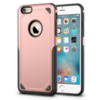 Coque iPhone 6 6s Pro Armor Shockproof - Housse de protection Rose - Extra Protection