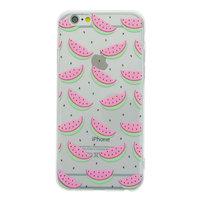 Coque Pastèque transparente iPhone 6 Plus 6s Plus TPU Silicone Fruit Transparent Cover Melon