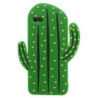 Etui 3D en silicone pour cactus iPhone 6 Plus 6s Plus - Vert