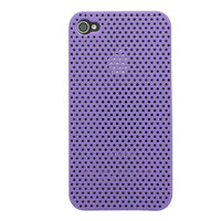 Étui rigide pour iPhone 4 4S Mesh Case - Violet
