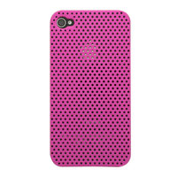 Étui rigide pour iPhone 4 4S Mesh Case - Rose