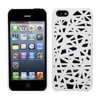 Étui pour nid d'oiseau Étui pour iPhone 5 5s SE Housse Housse Unique Bird Nest Design - Blanc