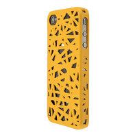 Coque nid d'oiseau iPhone 4 4s - jaune