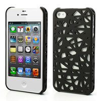 Coque iPhone 4 4s Bird Nest Cover Case Bird Nest Design - Noir