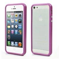 Housse pare-chocs pour iPhone 5 5s et iPhone SE - Violet