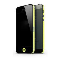 Autocollant de voiture iPhone 5 5s SE Decor Color Edge Skin - Yellow