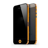 Autocollant Voiture iPhone 5 5s SE Décor Color Edge Skin - Orange