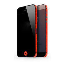 Autocollant Voiture iPhone 5 5s SE Décor Color Edge Skin - Rouge