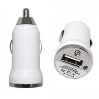 Chargeur allume-cigare Chargeur allume-cigare iPhone iPod Chargeur adaptateur allume-cigare - Blanc