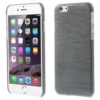 Étui rigide brossé pour iPhone 6 6s - Gris