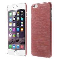 Étui rigide brossé pour iPhone 6 6s - Rouge