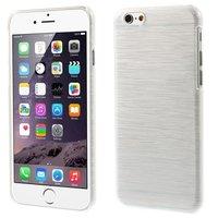 Étui rigide brossé pour iPhone 6 6s - Blanc