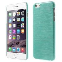 Coque iPhone 6 Plus 6s Plus Hardcase Brossée - Bleue