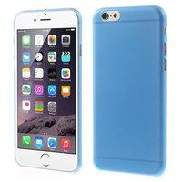 Coques iPhone 6 6s ultra fines et robustes de 0,3 mm d'épaisseur - Bleues