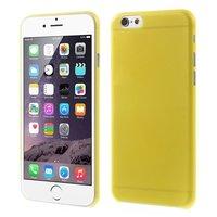 Coques iPhone 6 6s ultra fines et robustes de 0,3 mm d'épaisseur - Jaune