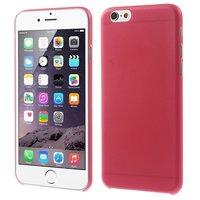 Coques iPhone 6 6s ultra fines et robustes de 0,3 mm d'épaisseur - Rouge