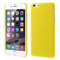 Coque rigide de couleur pour iPhone 6 Plus 6s Plus - Jaune