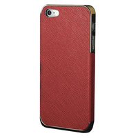 Coque Or Luxe iPhone 5 5s SE 2016 Hardcase Chic - Rouge