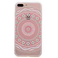 Coque en TPU Mandala Coque iPhone 7 Plus 8 Plus - Pastel