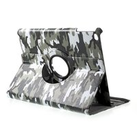 Housse camouflage Army Print Cover iPad 2017 2018 - Vert Blanc Noir