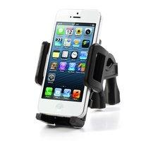 Support de téléphone pour guidon de vélo Support de vélo réglable universel - Noir