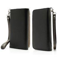 Etui portefeuille universel pour smartphone Etui portefeuille - Noir