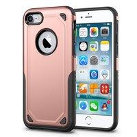 Coque antichoc Pro Armor iPhone 7 - Housse de protection en or rose - Protection supplémentaire