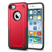 Coque iPhone 7 Antichoc Pro Armor - Housse de Protection Rouge - Extra Protection - Rouge