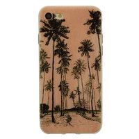 Boîtier à illustration palmiers peint à la main de Tinystories iPhone 7 8 - Palm Case