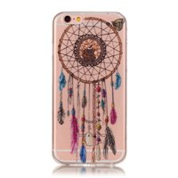 Coque en TPU Clear Dreamcher iPhone 6 6s - Marron