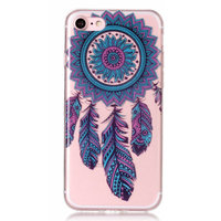 TPU Dreamcatcher Transparent iPhone 7 8 - Bleu Pourpre