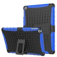 Coque de protection survivant standard iPad 2017 2018 - Bleu Noir