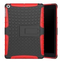 Survivor cover standard iPad 2017 2018 - Rouge Noir