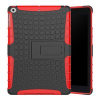 Coque iPad 2017 2018 standard Survivor - Rouge Noir
