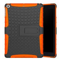 Housse de protection de protection standard iPad 2017 2017 2018 - Orange Black