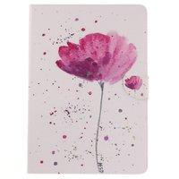 Couvercle pliant fleur rustique iPad Pro 10.5 - Blanc, rose