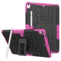 Coque iPad Pro TPU hybride en polycarbonate de 10,5 cm - Profil rose gaufré Standard